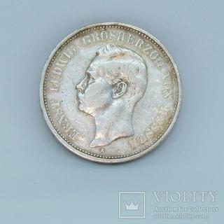 5 Mark, Hessen 1900, KM369/Jaeger 73
