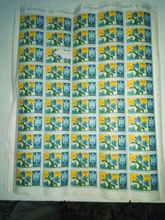 Сан-Марино 1953 г. цветы,тюльпаны