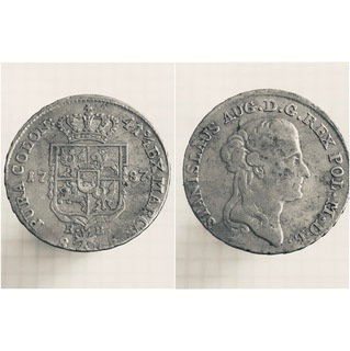 8 грош 1787 г. ЕВ, S.A.Poniatowski
