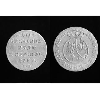 10 грош 1789 г. Е.В.
