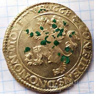 Талер левок 1668
