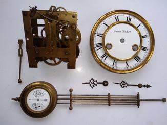 Механизм Gustav Becker с навесным
