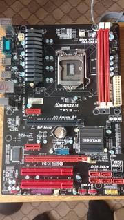 Biostar TP75 (USB 3.0/SATA3) Socket 1155 (уценка)