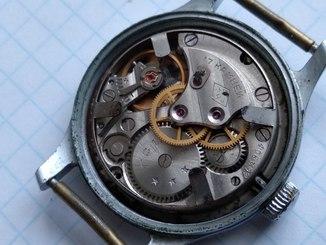 Часы, механизм мчз