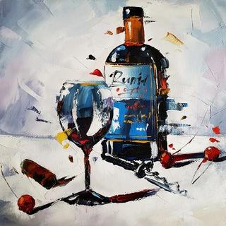 """Вино и вишенки"" - Лисогор Д.Г."