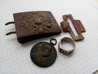 Пряга перстень медаль ПСВ