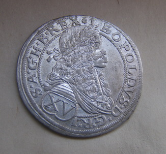 15 крейцерів 1675 р. Леопольд