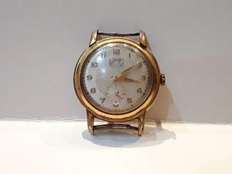 Позолоченые часы Ruhla 14 микрон