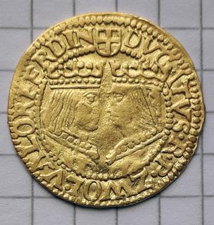 Дукат Цволле 1590-1597 г.