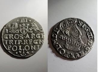 3 гроші 1622 рік