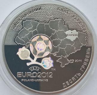 10 гривен Евро 2012