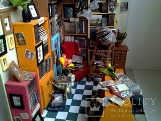 Библиотека в миниатюре