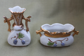 Фарфоровые миниатюрные вазочки. Germany.