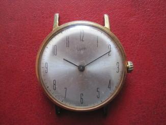 Часы Луч тонкие Ау 12.5