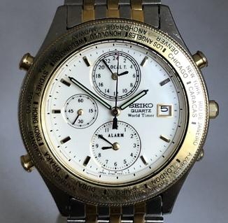 Часы Seiko World Timer Chronograph 5T52-7A20