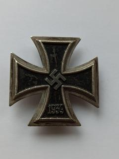 Железный крест 1 степени 1939 года