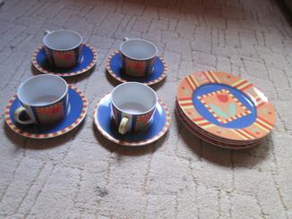Четыре чайные пары Германия.