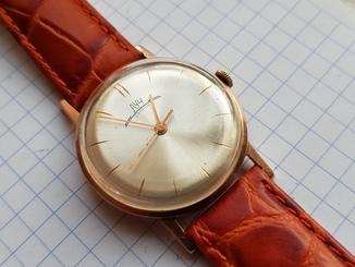 Золотые часы Луч 583 Вес 12.24