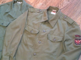 Военные куртка ,х/б,рубашки 4 шт.