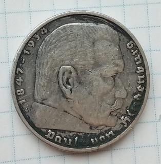 5 марок 1936 год