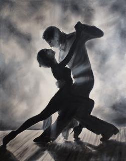 Картина В ритме танго, 50х40 см.