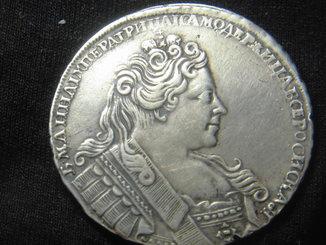 Рубль Анны Иоановны 1731 год