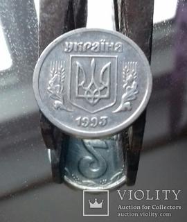 1.1.2.10.25 коп. поворот ок. 180 град. 5 монет.
