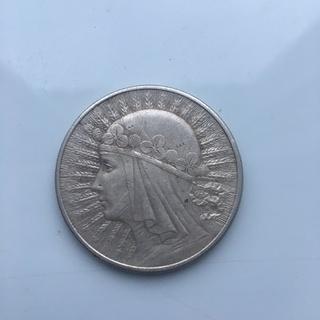10 злотих 1932 Польша, Ядвига,Без отметки монетного двора,Лондон