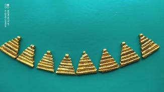8 подвесок Золото ЧК   11,2 гр