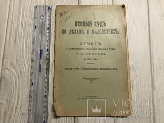 1913 Особый Суд по делам о малолетних