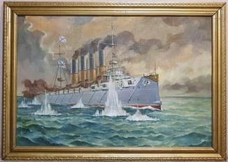 Картина  О.Голубцов. Размер 92 х 64 см