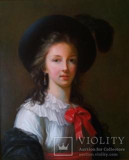 Копия автопортрета Виже Лебрен 1781-1782