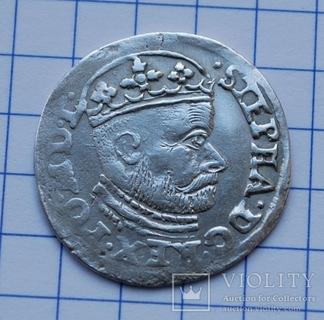 Трояк 1586 года.