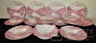 Сервиз тарелки блюда салатник Olde English Countryside by Johnson Brothers Англия