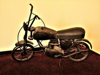 Винтажный мотоцикл для кукол ручная работа украшение кабинета Германия