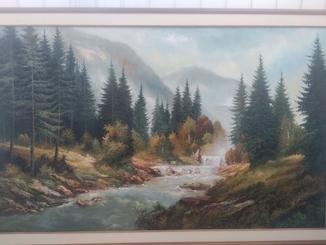 Водопад . Май ОгренкоВ