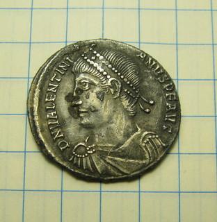Силиква Валентиниана І бюст влево R