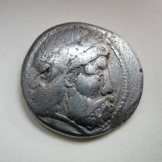 Гето-дакийское подражание тетрадрахме Филиппа II, вес 14,72 г.