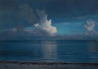 ''Тихий берег'' 50x70 см, 2019