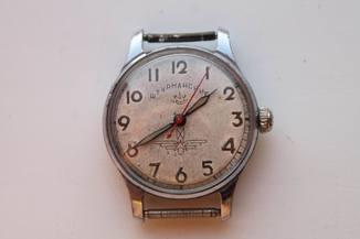 Часы Штурманские (Тип 2), 1 МЧЗ, 17 камней, стоп-секунда, 1-57