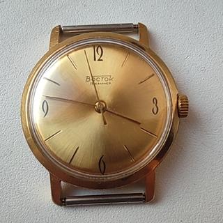 Часы Восток позолота Au20