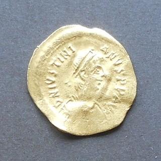 Византия: Юстиниан I (527-565) тремис