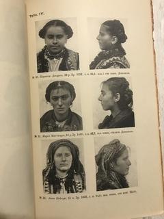1908 Населення Галичини, Буковини, Угорщини: Антрометричні досліди