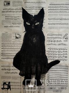 """""""Черный кот""""  Балабина"""