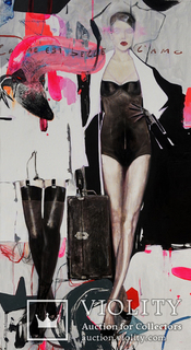 """Fashion"" Painting by Anastasia Balabina"