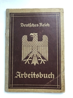 Трудовая книжка Германия - Arbeitsbuch (1 вариант)