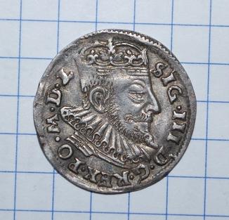 Трояк литовский 1593 г.