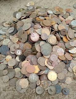 Лот монет 4к-500 грм