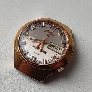 Часы Луч кварцевые электронно-механические. позолота Au10