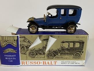 Лот №9 Руссо-Балт в коробке Состояние новое